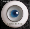 Glass Eye 16mm MD Grey D Blue MSD DOT Lati YOSD LUTS