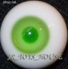 Glass Eye 16mm MD Green fits Volks MSD MDD Lati AI DOT