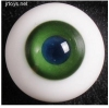 Glass Eye 16mm MD BGreen fits MSD U-noa Lati yosd AI