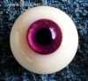 Glass Eye 16mm Purple Vein fits MSD DOT VOLKS LUTS Lati 1/4
