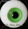 Glass Eye 18mm Deep Green fits  SD DOC VOLKS LUTS Lati 1/3