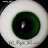 Glass Eye 18mm Dark Green fits SD DOC VOLKS LUTS Lati 1/3