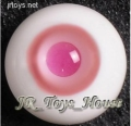 Glass Eye 20mm MD Pink fits MSD Super Dollfie DOD LUTS 1/3 BJD