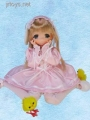 MAMACHAPP Hinachan Lop-eared Lolita Dress Ver, 1/6 Fashion Doll Obitsu RARE