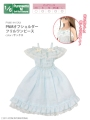 Azone Pureneemo PNS Off Shoulder Frill One-piece Sax Blythe Pullip Obitsu