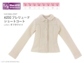 Azone AZO2 Outfits Prelude Short Coat Off White Obitsu 48/50cm MDD