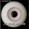 Glass Eye 12 mm Light Grey fits YOSD DOB VOLKS LUTS Lati 1/6