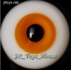 Glass Eye 12 mm Orange fits YOSD DOB VOLKS LUTS Lati 1/6