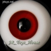 Glass Eye 12 mm Red fits YOSD DOB VOLKS LUTS Lati 1/6